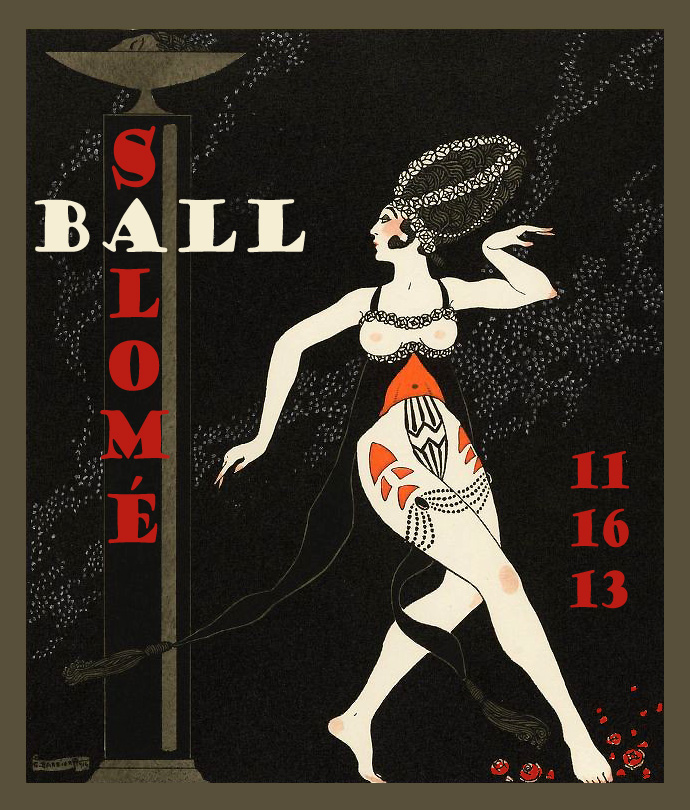 Salome Ball Invitation